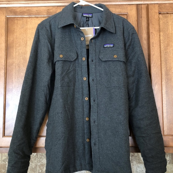 c619fb9e3cc Patagonia Mens Insulated Fjord Flannel Jacket